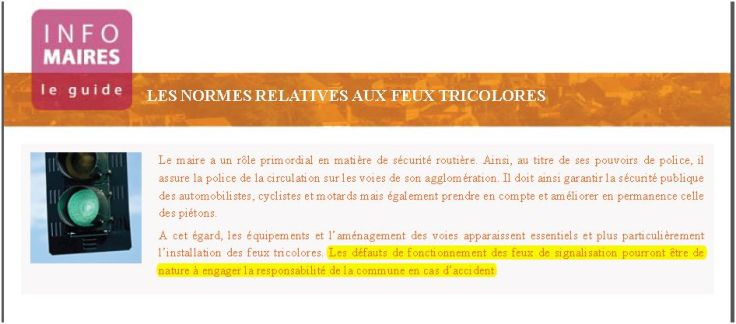 infos maires