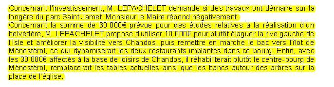 investissement 2017 lepachelet