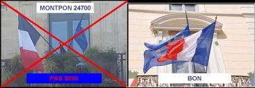 drapeaux bon et pas bon