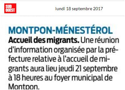 accueil migrants sudouest 18 septembre