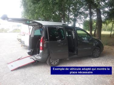 véhicule adapté
