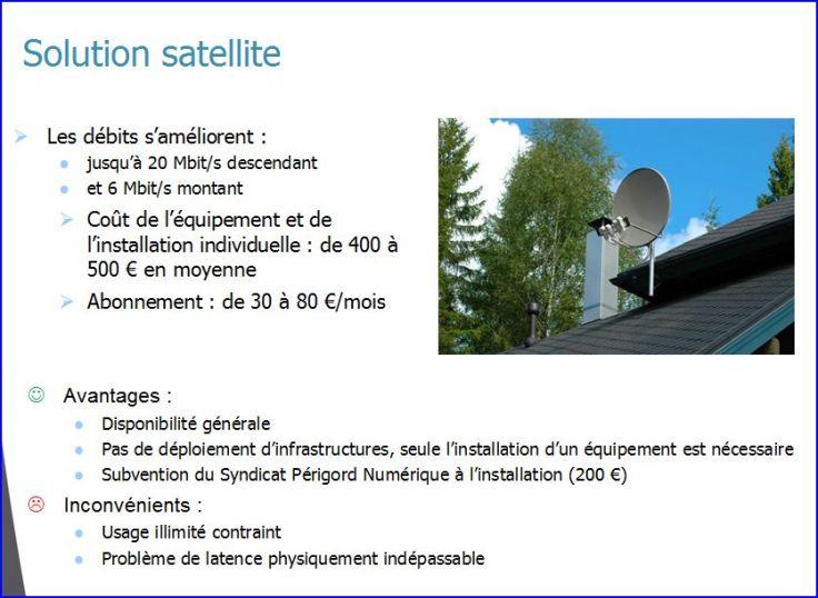 solution satelite