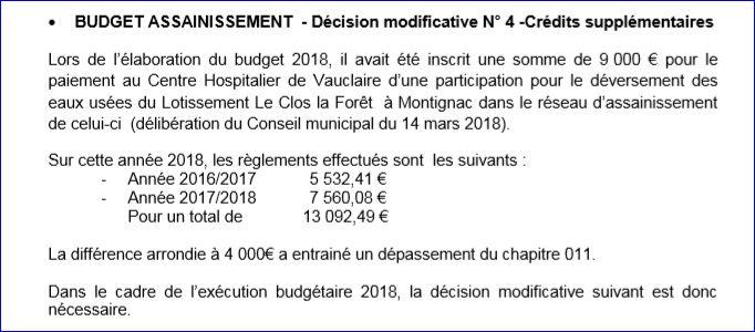 budget assain n)4