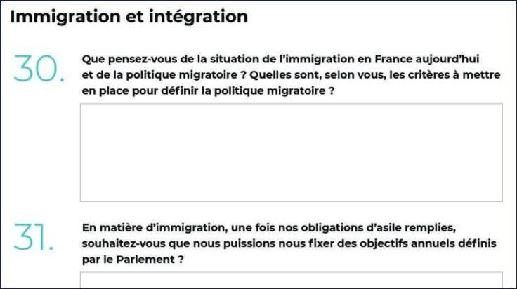 immigration et intégration